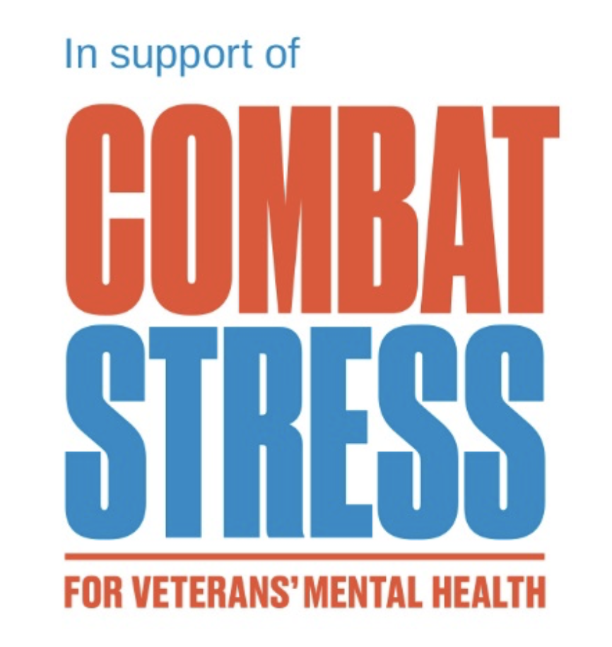 Logo: in support of Combat Stress