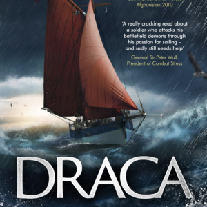 Cover to Draca, a 'really cracking read'.