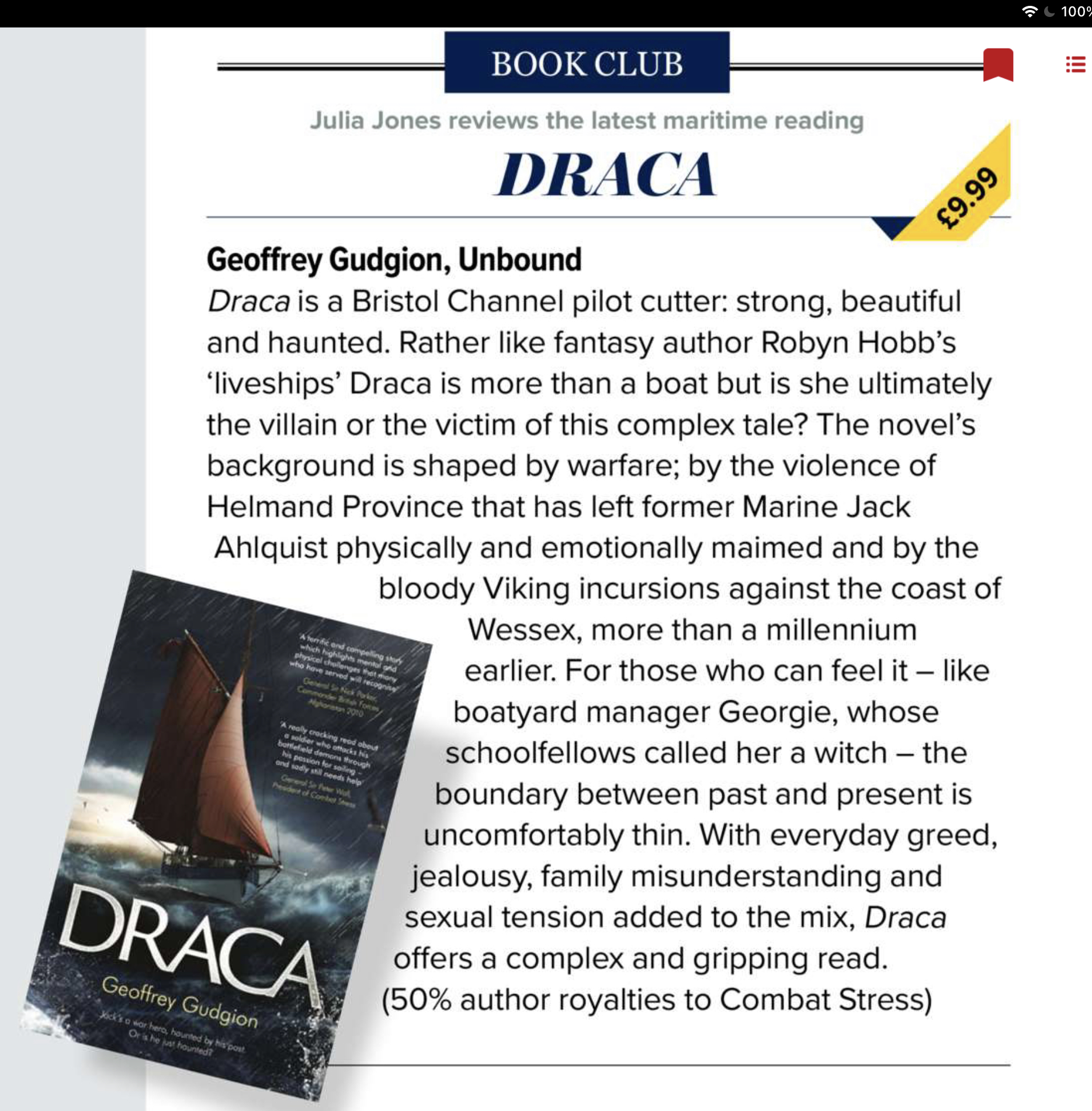 Draca review in Yachting Monthly